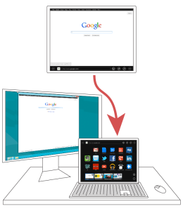 Windows Tablet Dock Concept